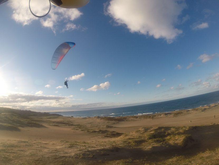 風はパーフェクト、デラックスに飛べた秋の空