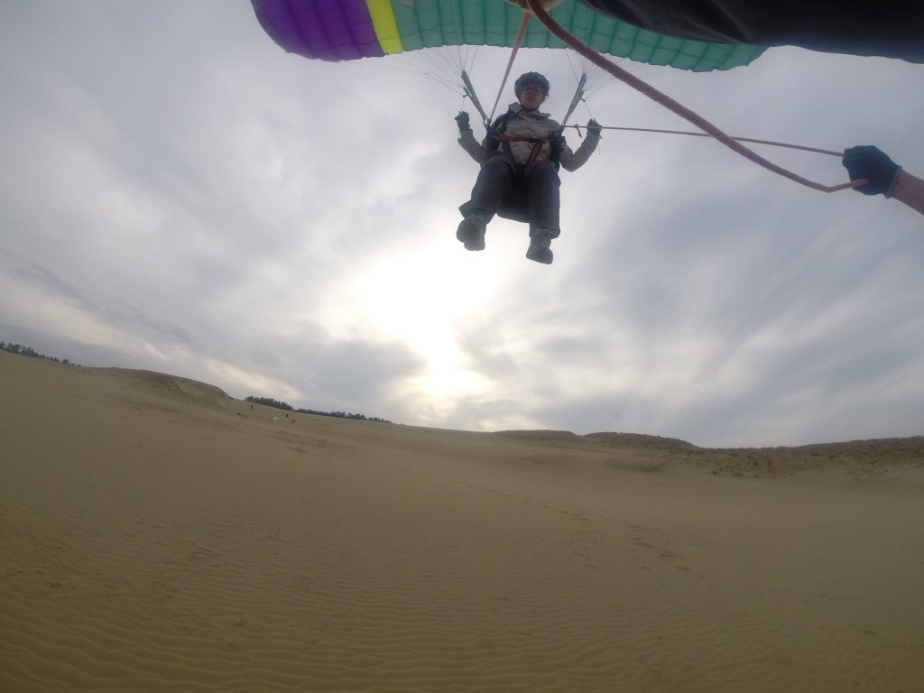 少しずつ高さをあげて、飛んでる感をより感じていただきます