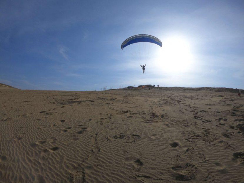 暖かでさわやかな鳥取砂丘を、おおいに満喫した日曜日