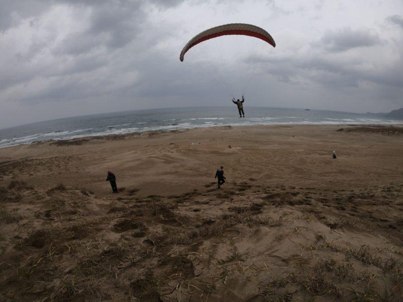 心配していた強風は吹かず、空いっぱい飛行を楽しんだ土曜日
