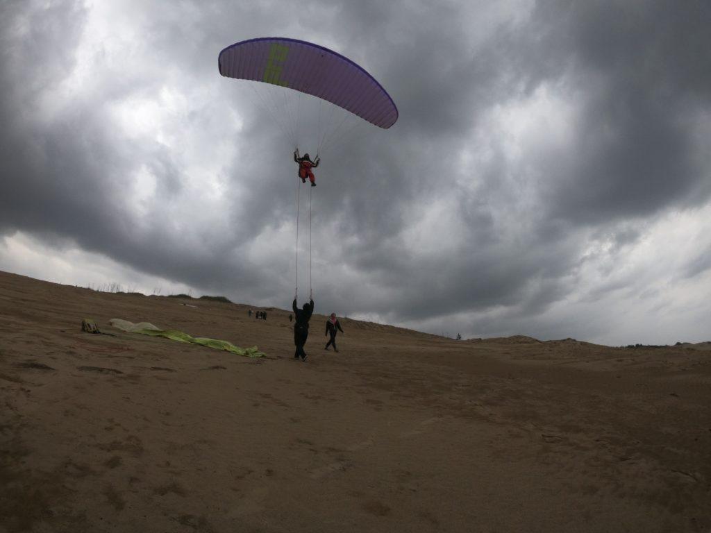 ラストはやや風速アップしたので、ホバリング飛行で長時間飛べました