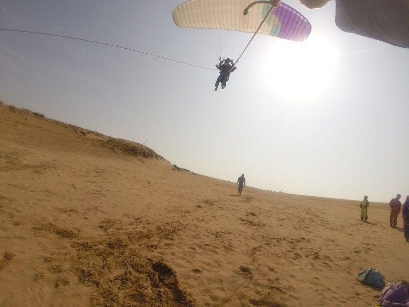 絶景がたっぷり楽しめた鳥取砂丘のパラグライダー