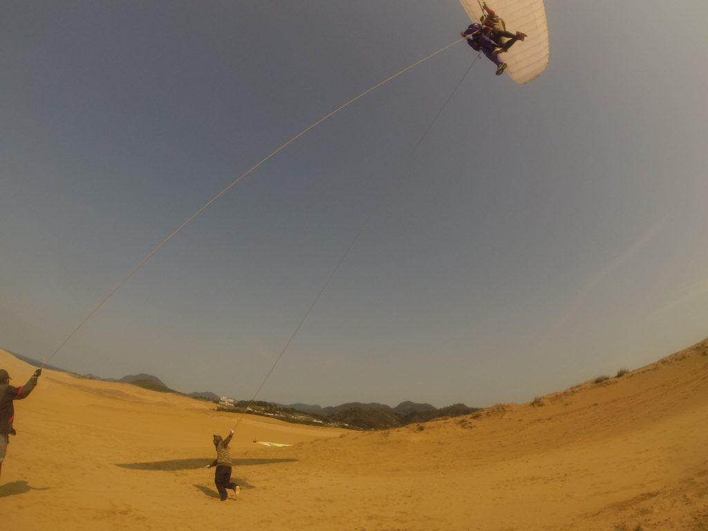 鳥取砂丘の全景を、別角度から楽しめましたね