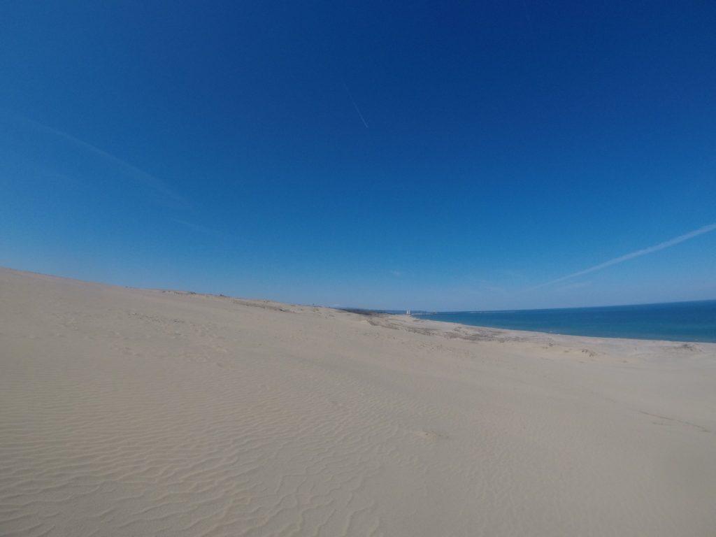 スカッと晴れ渡って美しい風景が楽しめた鳥取砂丘