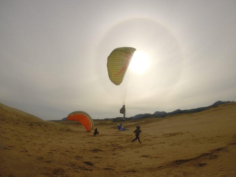 雄大な鳥取砂丘の風景を空から楽しもう
