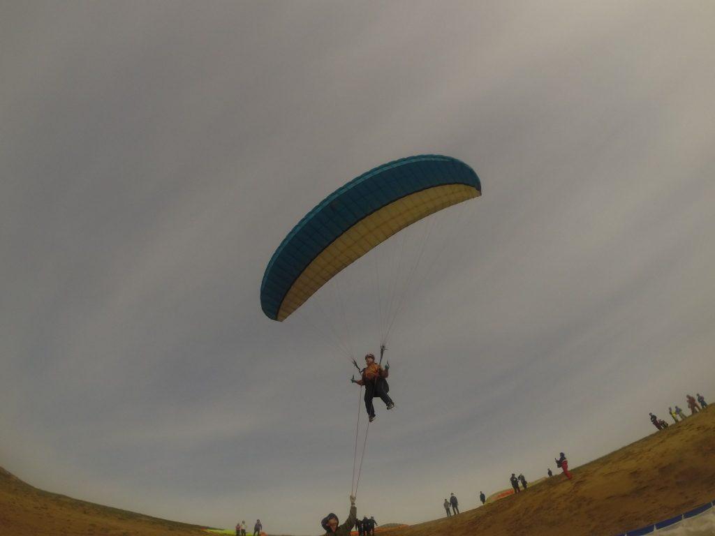 飛びながら見える風景はどんなですか~?