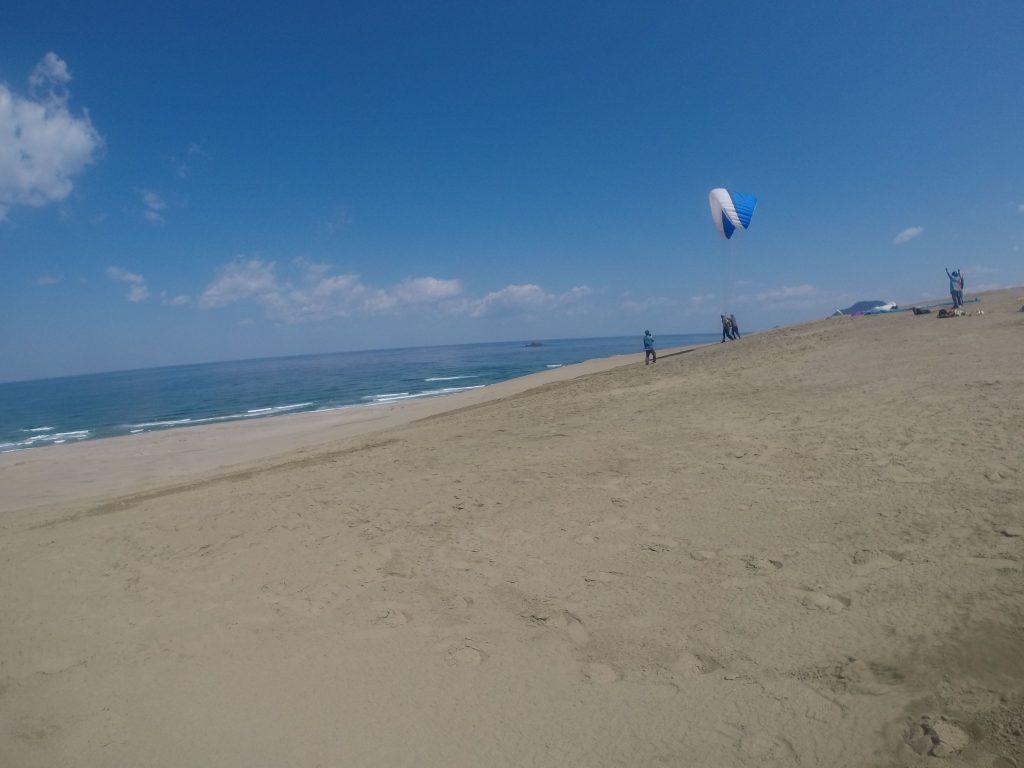 あの海と空の世界に向かって、せ~のっ!