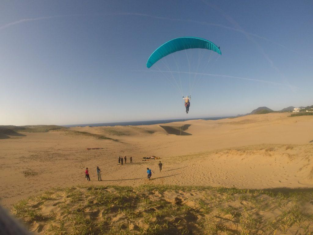 鳥取砂丘の空をデラックスに楽しむことができました^^