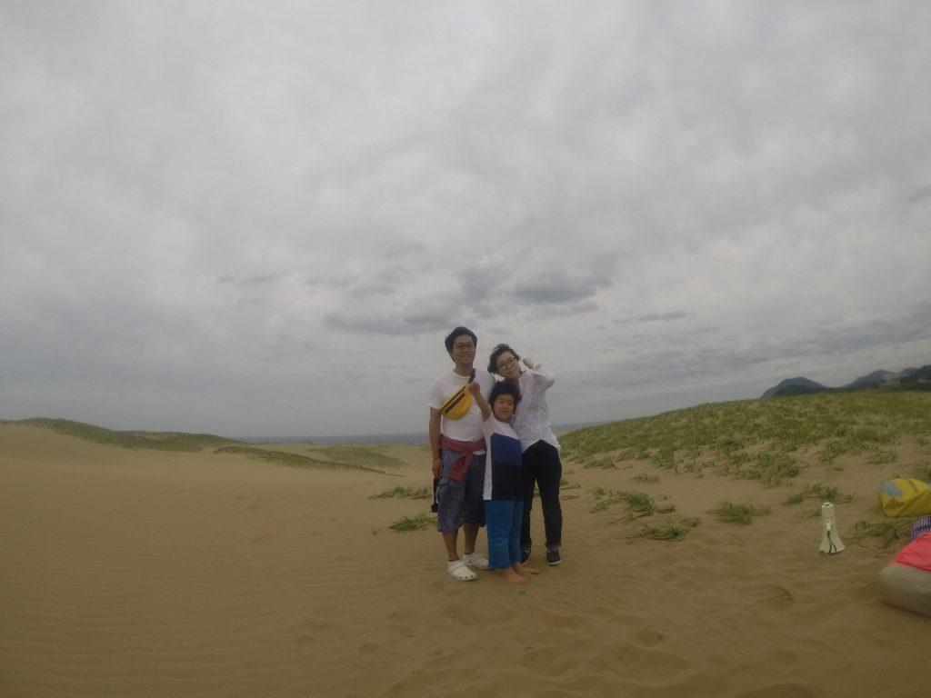 砂が舞っていた午後の部