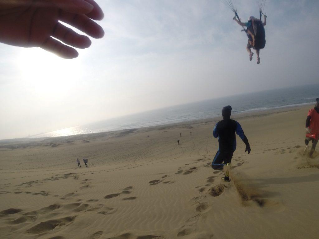 次から次へと、空の世界へ飛び出していかれました