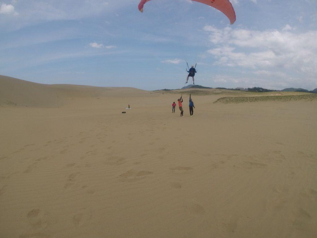 強めの風を利用して、長時間滞空できました!