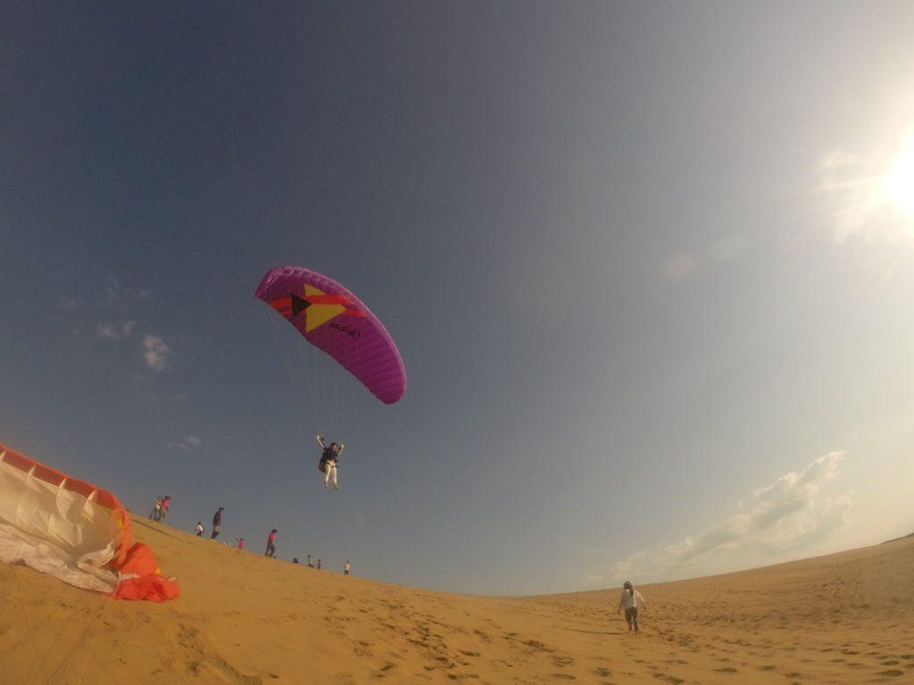 いい風に乗って、大空へ向かって飛んでけ~