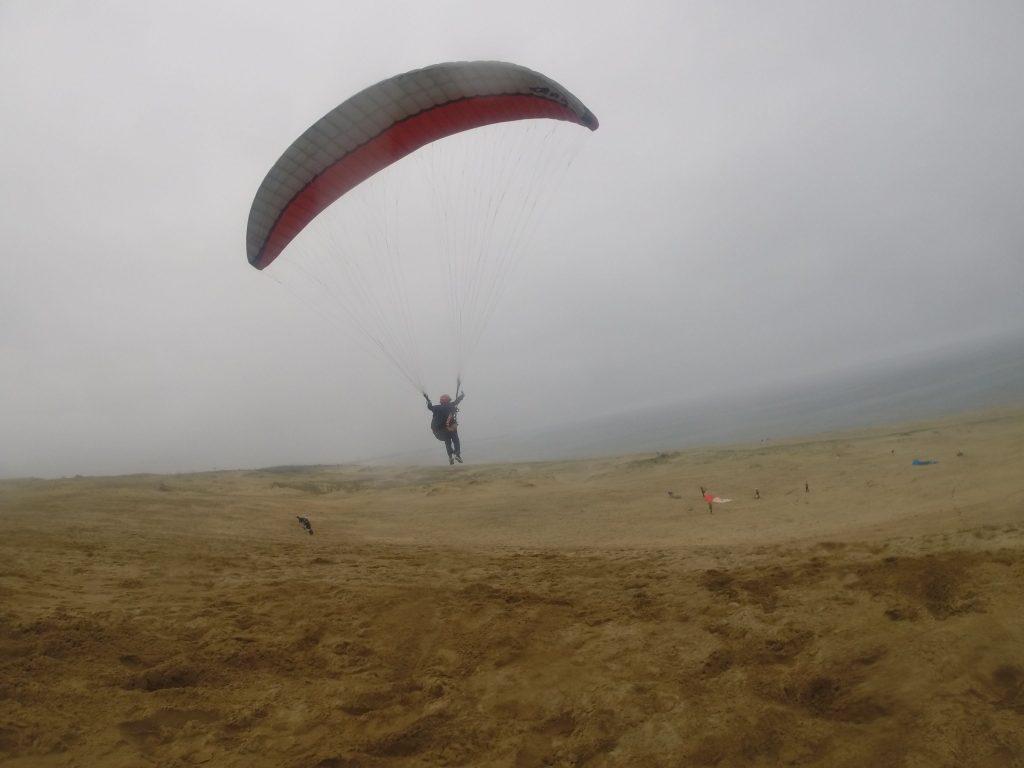 雨に少々降られようが、飛ぶ面白さは変わりません