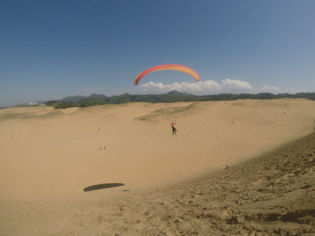 高い視点からの砂丘風景が楽しめました^^