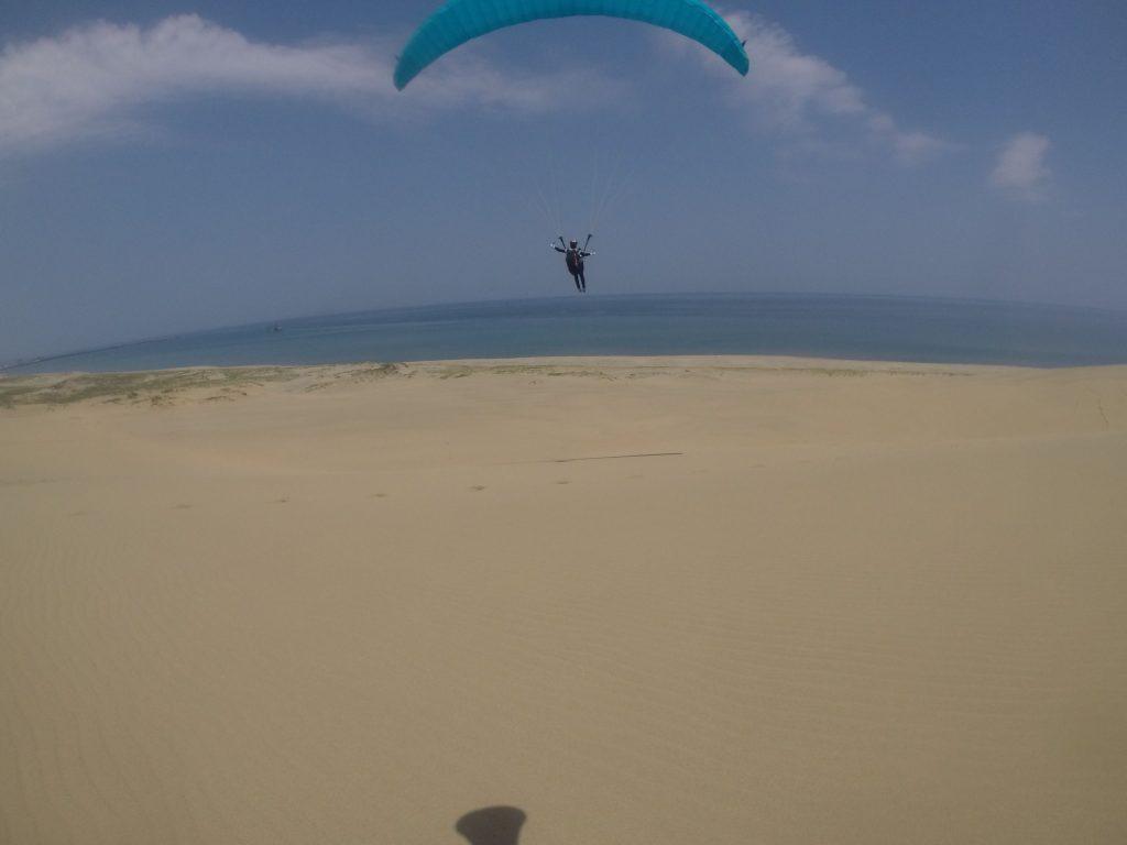 ばっちり風に乗って大滑空