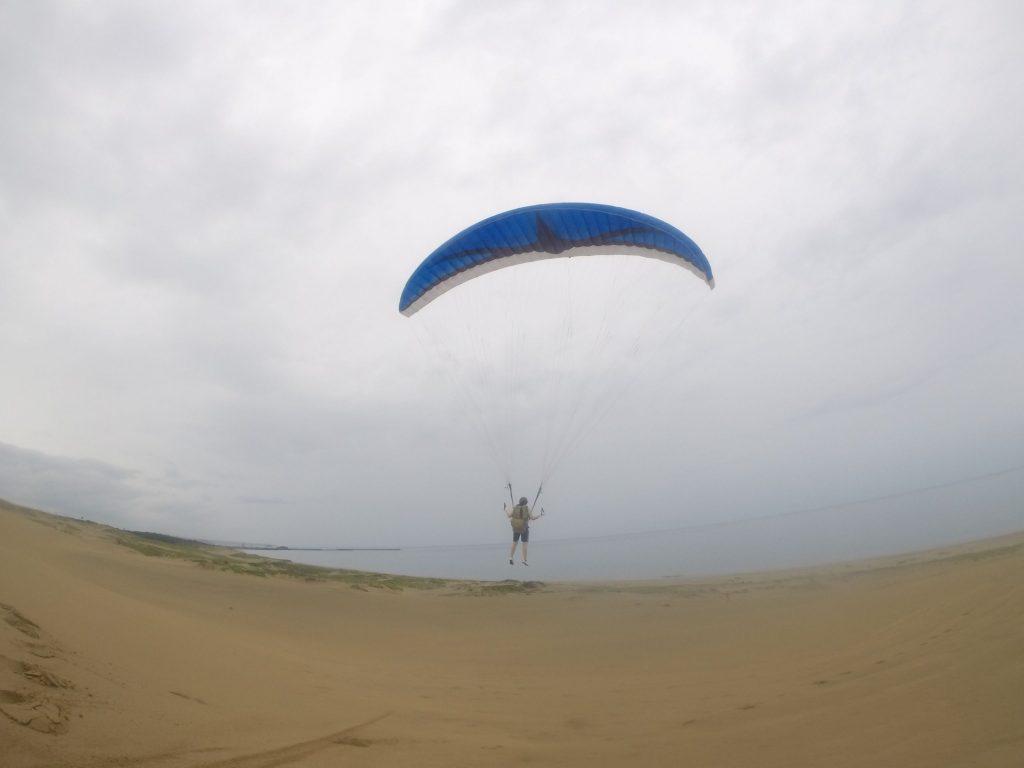 二回目のフライトは風が変わったので海に向かって飛びました(*'ω'*)