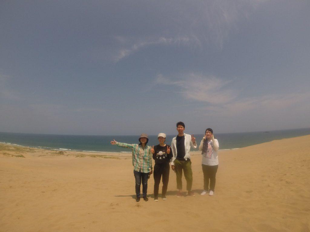 台湾のお姉さんと京都のお姉さんと佐賀のカップルさん💑
