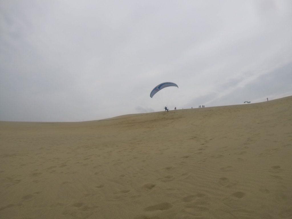 砂丘の丘から・・・