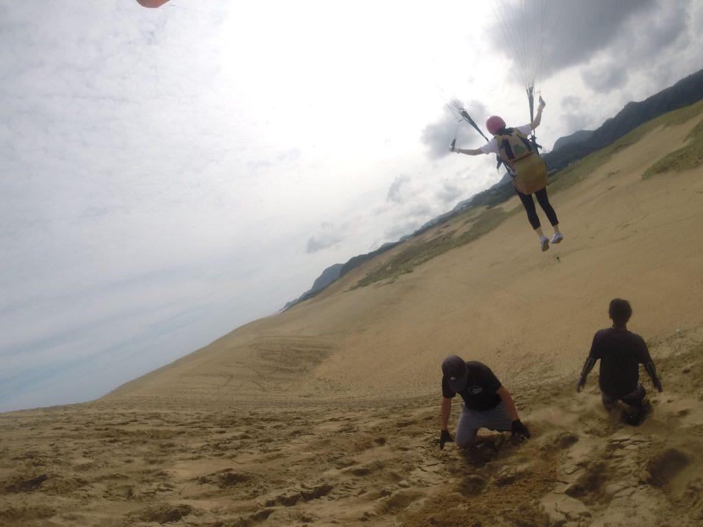 空から眺める鳥取砂丘がスバラシイ