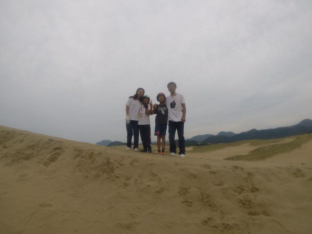 午後の部は神戸からお越しのご家族様。 午前と同様で高い丘からのフライトです。