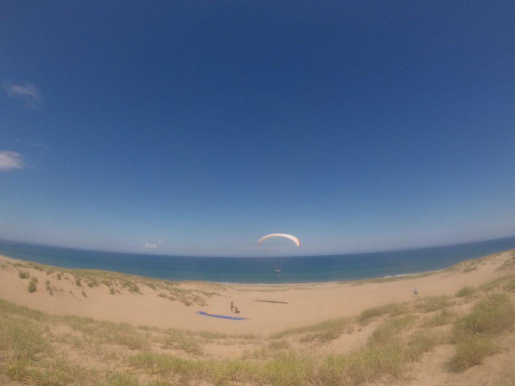 空も海も青いです♪キレイですね♫