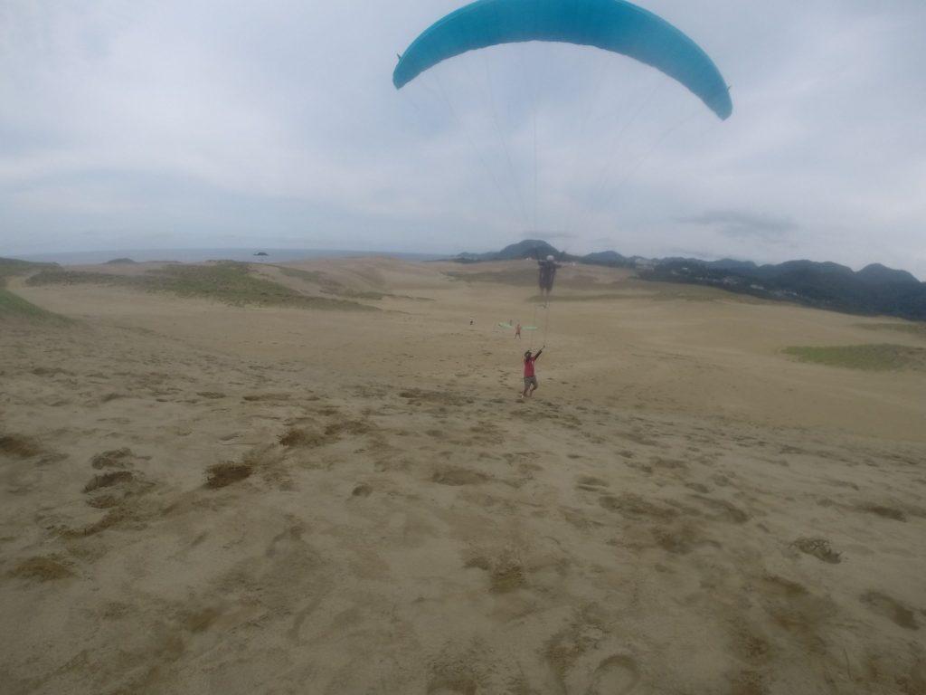 砂丘の綺麗な景色を一望できます♪