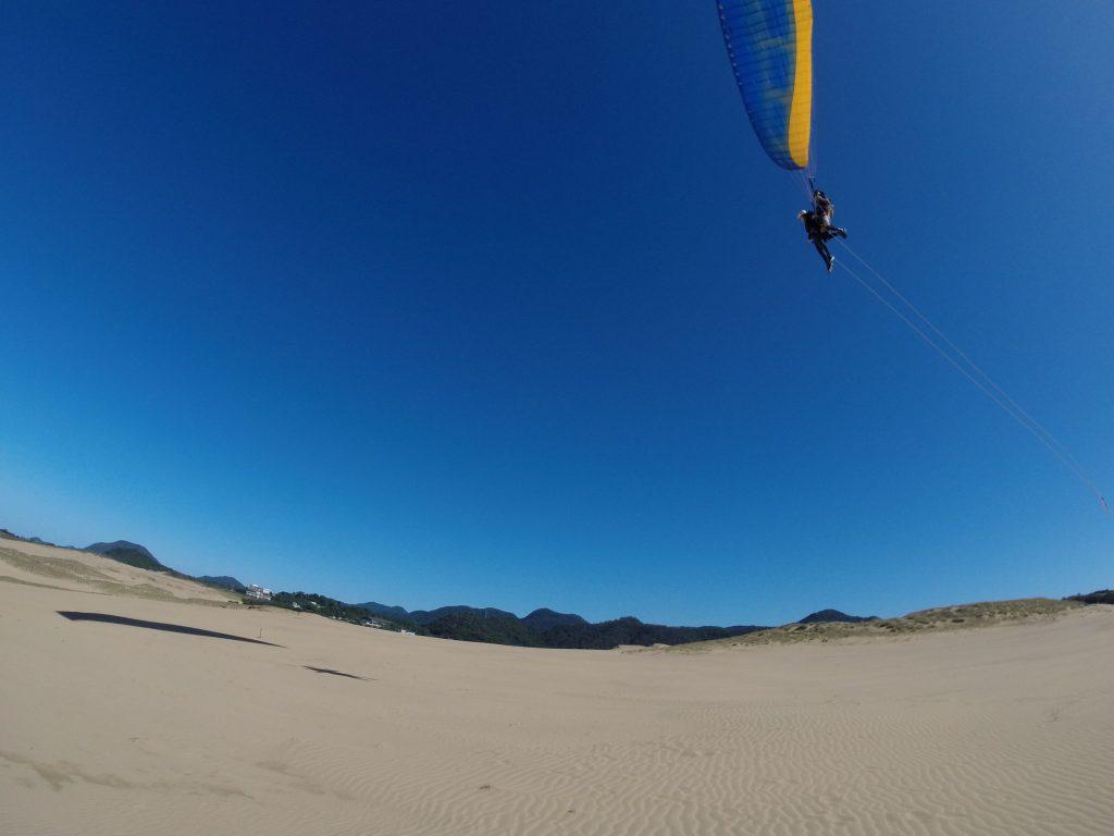 最後はやっぱりタンデムで高さを出して飛びました!